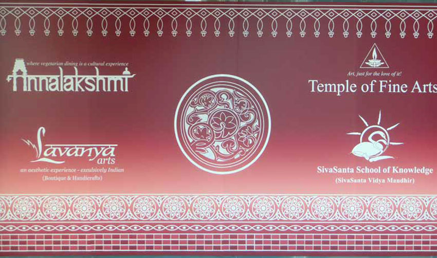 On Invitation From Temple of Fine Arts, Singapore.